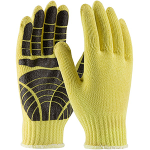 Kevlar Gloves with PVC Grips