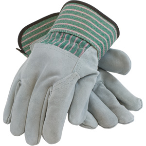 3/4 Leather Back Gloves