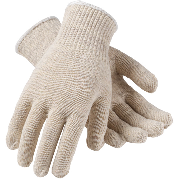 Uncoated Cotton/Polyester Knit Glove