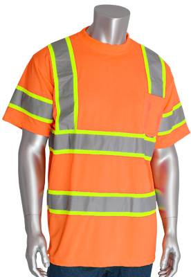 optimal visibility hi-vis t-shirt